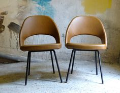 Vintage Ero Saarinen chairs by CollectionIt on Etsy