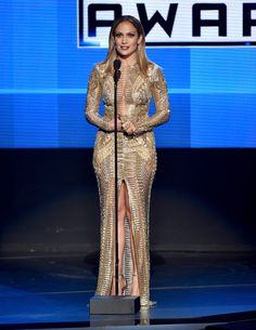 Jennifer Lopez in 2nd outfit.