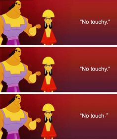 EMPEROR'S NEW GROOVE IS SO FUNNY! THIS REALLY HAPPENED ON THE MOVIE! #Dinsey