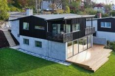 tilbygg Album, Home Fashion, Oslo, Deck, Mansions, House Styles, Outdoor Decor, Home Decor, Pictures
