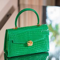 Browse our range of KWANPEN and visit Robinsons MENA today to be the first to learn about our new offers and product releases. Signature Collection, Crocodile, Leather Handbags, Accessories, Style, Feminine Fashion, Zapatos, Women, Swag