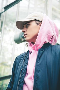 JUNKYARD XX-XY pink Garcia Hoodie