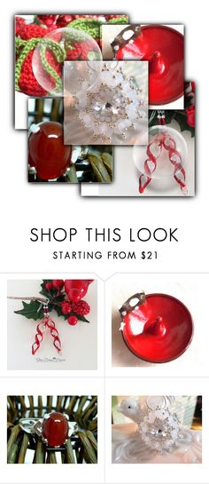 """Christmas Etsy Gift Guide"" by alidishu ❤ liked on Polyvore featuring vintage"