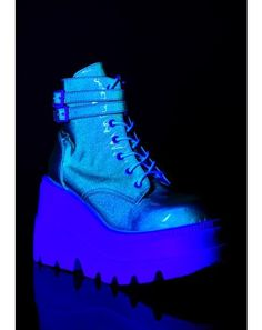 Club Exx Black Glitter Traitor Boots With Holographic Hearts | Dolls Kill 90s Platform Shoes, Black Platform Boots, Buckle Boots, Combat Boots, Black Booties, Ankle Booties, Butterfly Heels, Creeper Boots, Cute Heels