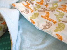 KdBuggie Boutique: DIY Toddler Bedding {making a quilt with batting WITHOUT using binding!!!}