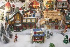 Christmas Village Display Ideas by Marty's Musings