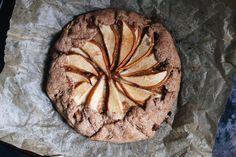 Eat: Rustic Vegan Almond Pear Galette – Free People Blog | Free People Blog #freepeople