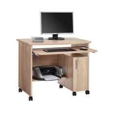 awesome Websurfer Computer Desk In Sonoma Oak With 1 Door And Wheels Check more at http://hasiera.co.uk/s/office/product/websurfer-computer-desk-in-sonoma-oak-with-1-door-and-wheels/