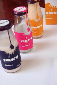 Yogurt Packaging Design and Ideas - Nnm - Yogurt Packaging, Juice Packaging, Beverage Packaging, Bottle Packaging, Coffee Packaging, Food Packaging Design, Packaging Design Inspiration, Packaging Ideas, Design Ideas