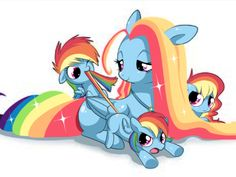 Sees mother doesn't have cutie mark. Flips table.
