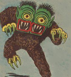 Two-Headed Monster From Electro Comic Books Art, Comic Art, Book Art, Old Comics, Vintage Comics, Arte Horror, Horror Art, Illustrations, Illustration Art