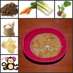 Vynikající polévka :-) Natrouháme kedlubnu a mrkev a přidáme několik koleček pórku, posypeme lehce kmínem a dáme vařit. Když je vše měkké, zahustíme jíškou z másla a mouky. Výborná :-) Matilda, Palak Paneer, Breakfast, Ethnic Recipes, Food, Hoods, Meals