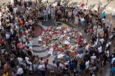In Barcelona, five minutes of 'pure panic' and 'absolute terror'
