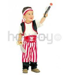 Original #disfraz para #Bebé de pirata para disfrutar de tu fiesta de #disfraces #carnaval