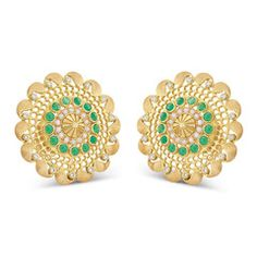 Rasvihar Palki Series Large Ear Stud | Parisera