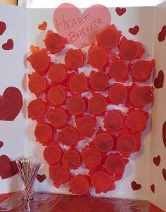 heart breaker tissue paper valentine party game
