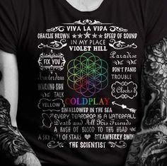 Nice Coldplay shirt.