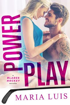 Power Play (Blades Hockey #1) by Maria Luis: Author & Charater Interviews