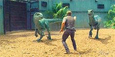 Blue and Delta  Jurassic World Indominous rex tumblr