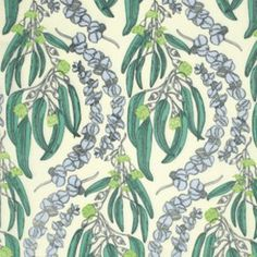 Anna Maria Horner - Pretty Potent Rayon - Eucalyptus in Lime