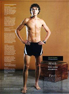 Scott Jurek, vegan ultra marathon runner, author of Eat and Run, featured in Born to Run
