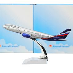 Le Russian International Airlines Aeroflot-Russian Airlines Airbus A330 avion modèles enfant D'anniversaire cadeau avion modèles