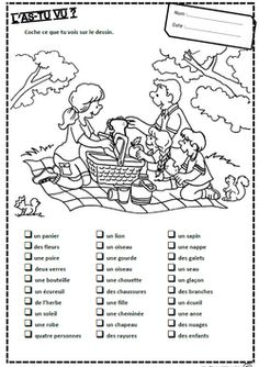 French Learning Videos Notebook Learn French Videos Tips France Referral: 8306247936 French Flashcards, French Worksheets, French Language Lessons, French Lessons, French Teacher, Teaching French, Grade 1 Reading, French Grammar, French Verbs