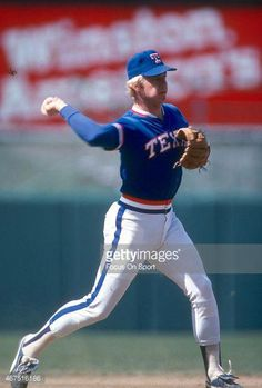 c54a69a0e71 Buddy Bell  25 of the Texas Rangers in action against the Baltimore Orioles  during an
