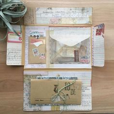 Reinate (@snailmail_reinate) • Instagram photos and videos Album Journal, Scrapbook Journal, Scrapbook Cards, Pen Pal Letters, Letter Art, Letter Writing, Mail Art Envelopes, Coin Envelopes, Aesthetic Letters