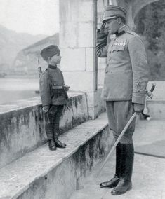 Momcilo Gavric - youngest soldier in the First World War