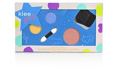 Let your little one's imagination run wild with the Klee Naturals Times Square Flair Mineral Makeup Kit. Natural and organic ingredients will help her shine and safely express herself. Includes blush brush and applicator. Mineral Cosmetics, Mineral Eyeshadow, Makeup Cosmetics, Makeup Geek Eyeshadow, Makeup Kit, Eye Makeup, Hair Makeup, Makeup For Teens, Girls Makeup