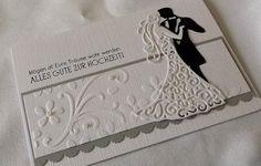 Hochzeitskarten - Hochzeitskarte - ein Designerstück von LiebeGruesse bei DaWanda