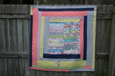 Show Off Saturday: I finished by Gee's Bend Inspired Wonky Quilt — SewCanShe | Free Daily Sewing Tutorials