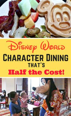 A Disney Character Meal that won't break the bank!