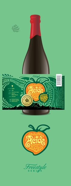 Elevation Beer Co. - Peach Acide Label by Jared Jacob