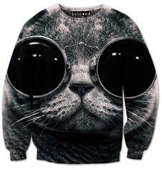 Beloved Shirts COOL CAT SWEATSHIRT at Shop Jeen | SHOP JEEN