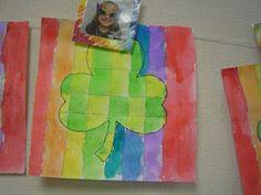 Mrs. T's First Grade Class: Shamrock Art