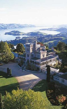 Larnach Castle , Dunedin, South Island, New Zealand
