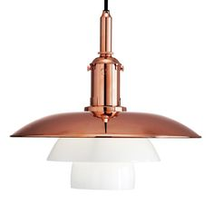 Louis Poulsen PH 3 ½-3 Copper Pendant from 1929 is released in the occasion of Poul Henningsen's 120-year anniversary.