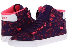 Supra Vaider Purple/Pink/White - 6pm.com