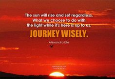 Journey Wisely