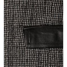 mytheresa.com - Isabel Marant - BLAZER KACIE MIT LEDER - Luxury Fashion for Women / Designer clothing, shoes, bags