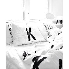 Bedroom   #inspo #interior #bed #bedroom #pinterest #black #white #cosy #love #letters #boss #pretty #style #fashion #design