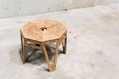 Bijzettafel Octagon - Moso Bamboo - 50x50x42cm - We Do Wood