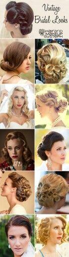 Vintage Bridal Hairstyles