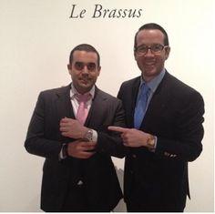 With Francois-Henry Bennahmias of Audemars Piguet
