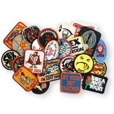 Mystery Vintage Patch Pack on Storenvy