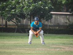 Wicket Keeper - Under pressure in PCCare247 Cricket Tournament 2012