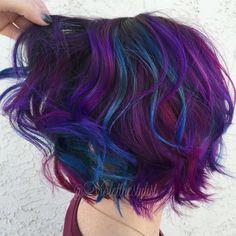 "465 Likes, 31 Comments - Amelia Violet | SD Colorist (@violetthestylist) on Instagram: ""🌅| Bird of Paradise |🌅 #violetthestylist #bouffantbabes #btconeshot_color16 #btconeshot_rainbow16…"""