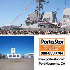 Need to Rent Portable Storage Containers in Port Hueneme, California? Call Porta Stor at to get info on Storage Containers in Port Hueneme. Storage For Rent, Port Hueneme, Ventura County, Storage Containers, The Unit, California, Places, Storage Units, Travel